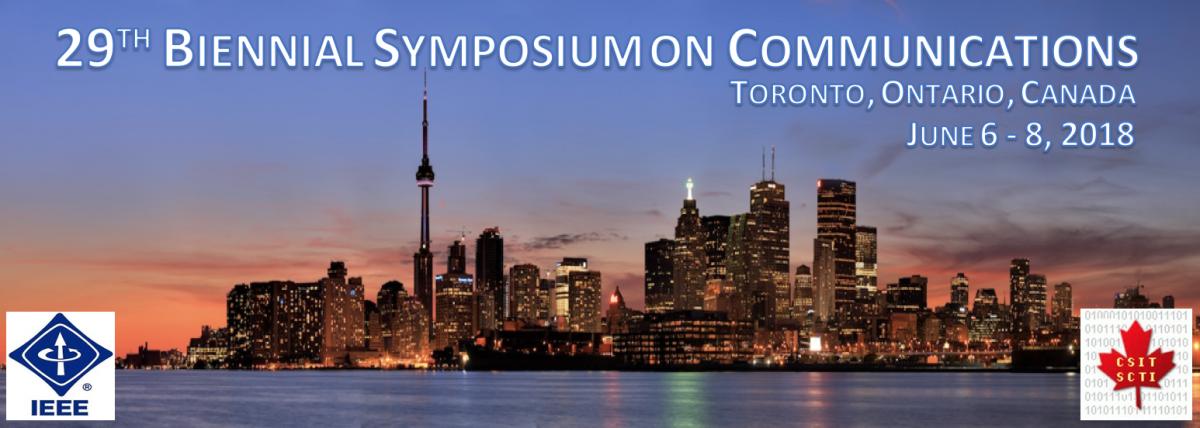 29th Biennial Symposium on Communications